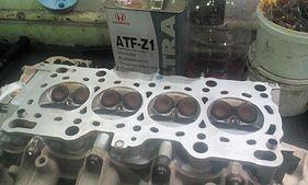 Головка блока двигателя F20B после перегрева