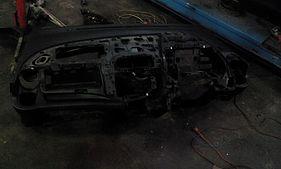 Разбор панели Honda Fit 2014