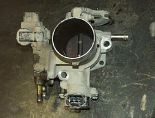 Чистка дроссельной заслонки Toyota Allex