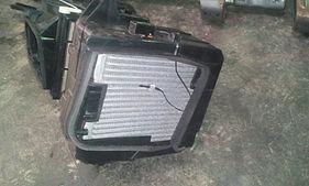 Снятый отопитель Subaru Forester