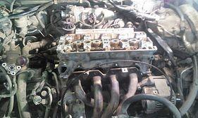 Двигатель F20B после перегрева