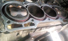 Блок двигателя F20B после перегрева