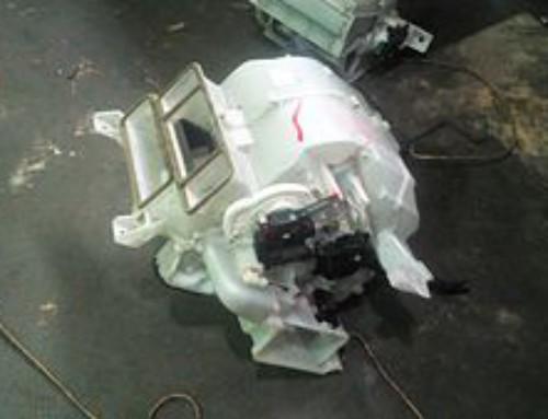 Ремонт отопителя Honda Fit