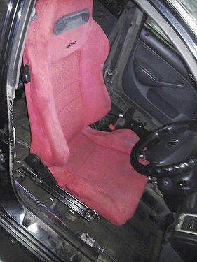 Recaro в салоне Honda Civic Ferio