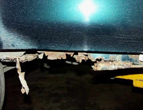 Восстановление порогов Honda CR-V