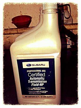 Жидкость в АКПП для SUBARU Forester 2002 SG6