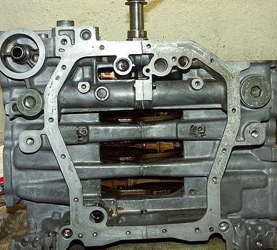 Блок двигателя Subaru Forester после ремонта