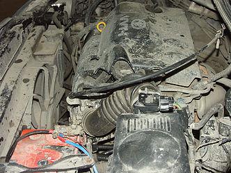 Установленный дроссель Toyota Allex