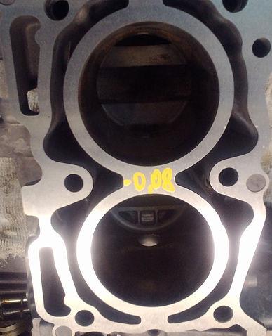 Блок двигателя Subaru Forester после шлифовки
