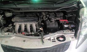Под капотом Honda Fit 2014