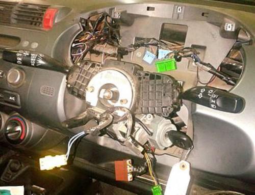 Замена замка зажигания HONDA FIT GD1
