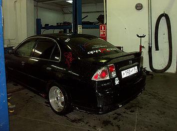 Honda Civic Ferio в автосервисе