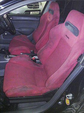 Recaro в салоне Honda Civic Ferio