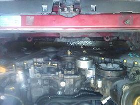 Установленный мотор 3,0 л в Subaru Forester