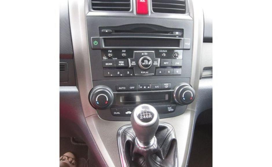 Honda CR-V 2011, консоль