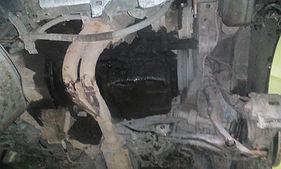Поддон двигателя B20B в масле