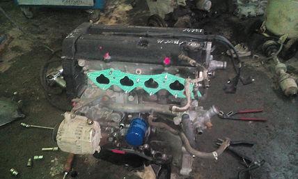 Двигатель B20B подготовлен к установке