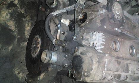 Старый двигатель B20B