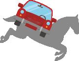 машина прыгает