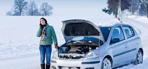 Холодный запуск автомобиля