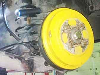 Замена барабанных тормозов на дисковые